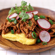 Photo of Garlicky mexican chicken with ancho peppers and crispy polenta by WW