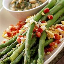 Photo of Asparagus and White Bean Vinaigrette by WW
