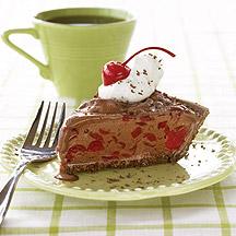 Photo of Frozen chocolate-cherry pie by WW