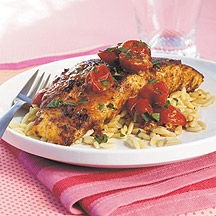 Photo of Grouper with pan-roasted tomatoes by WW