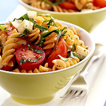Photo of Tomato, Basil and Smoked Mozzarella Pasta Salad by WW