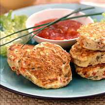 Photo of Vegetable fritters by WW