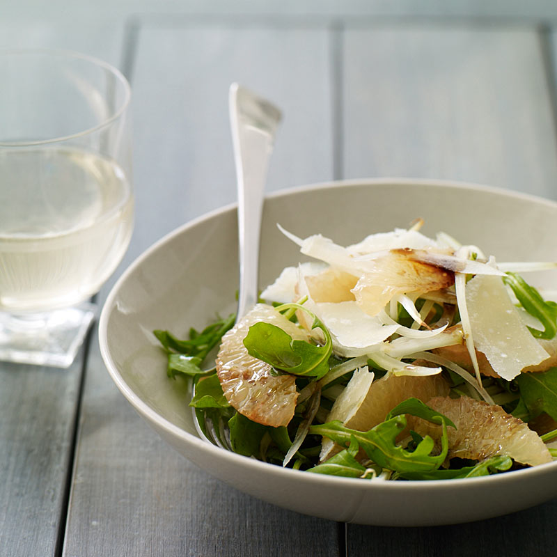 Photo of Arugula, Grapefruit and Parmesan Salad by WW
