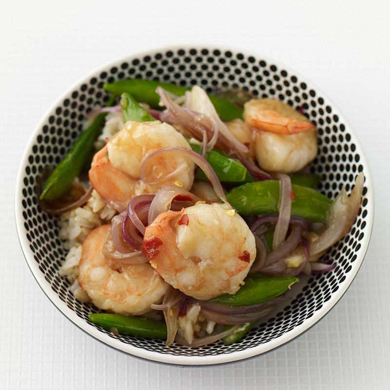Asian skillet shrimp and sugar snap peas recipes weight watchers asian skillet shrimp and sugar snap peas forumfinder