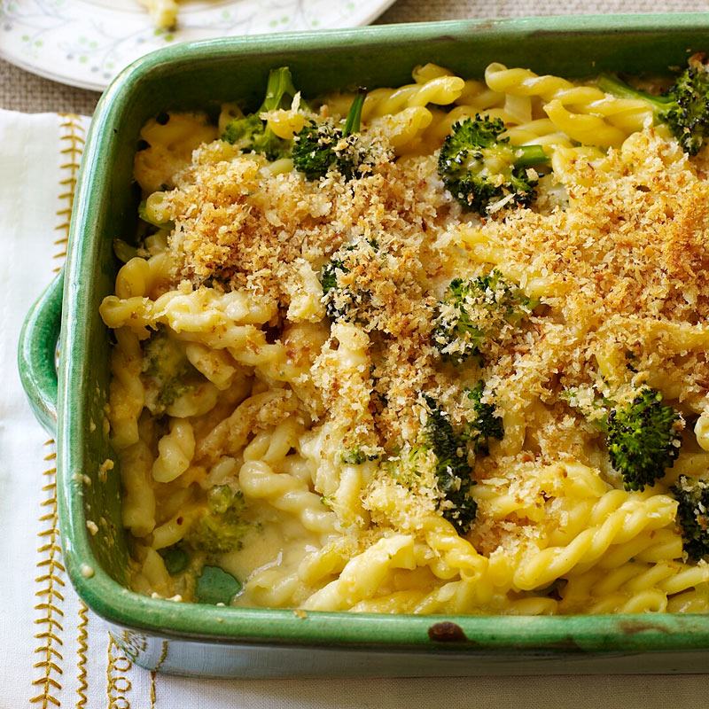 Photo of Baked Macaroni and Cheese with Broccoli by WW