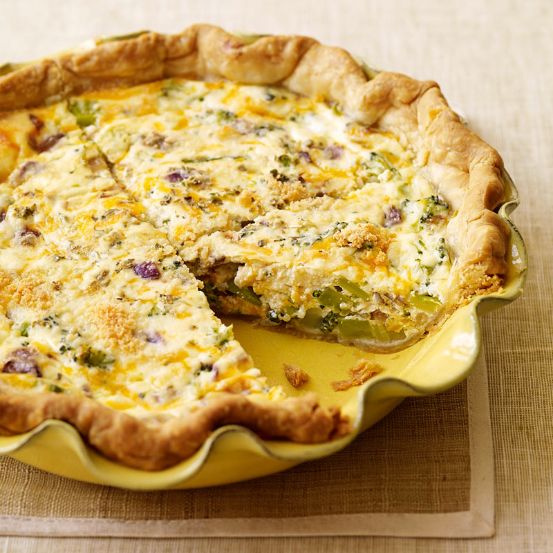 Broccoli And Cheddar Quiche Recipes Ww Usa