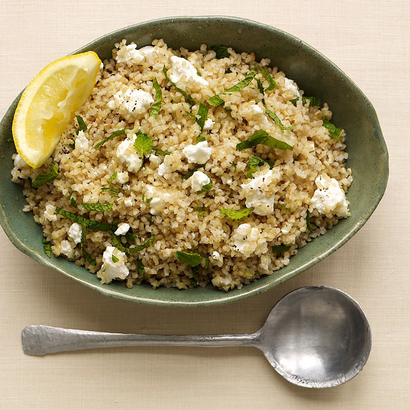 Photo of Bulgur Salad with feta and mint by WW