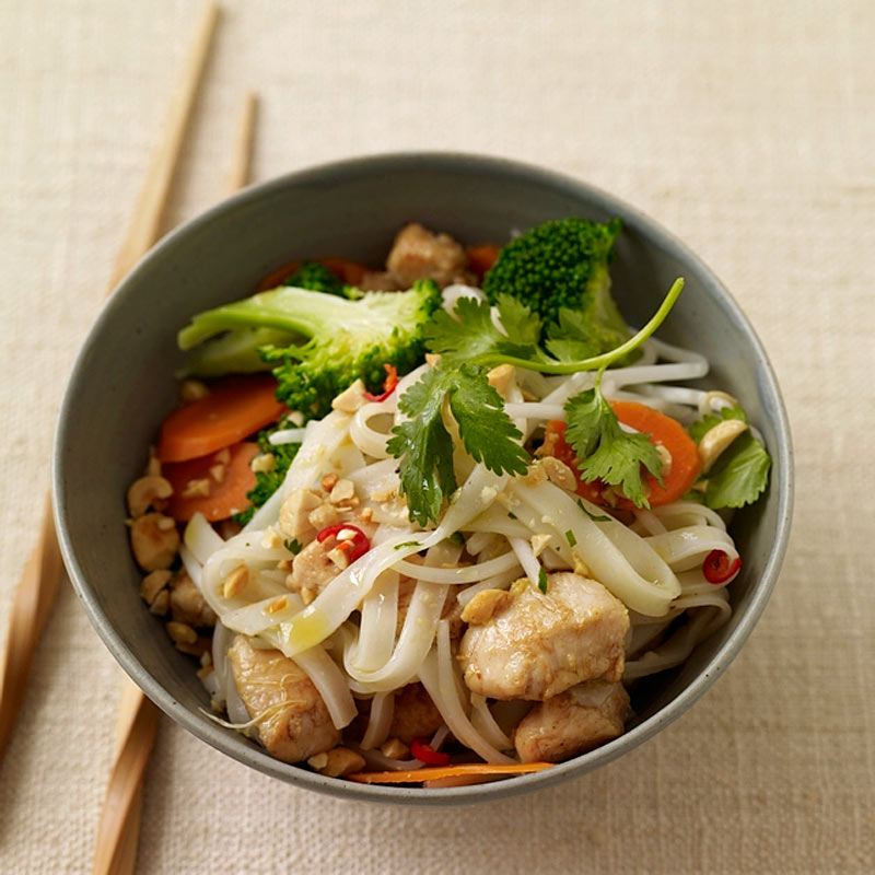 Photo of Chicken pad Thai by WW