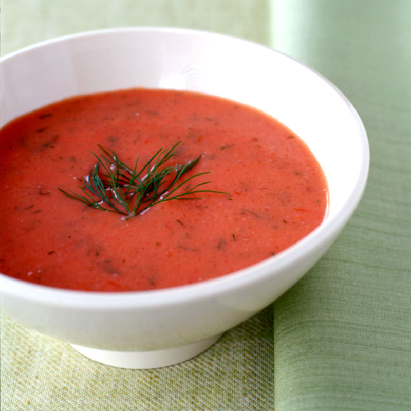 Photo of Chilled tomato-dill soup by WW
