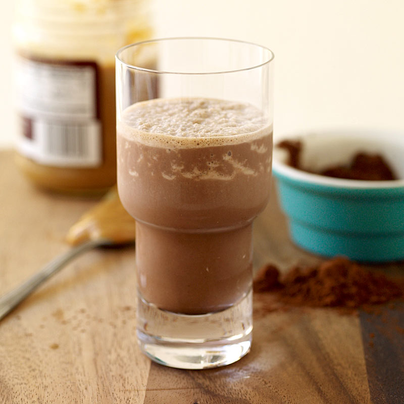 Photo of Chocolate-peanut butter shake by WW