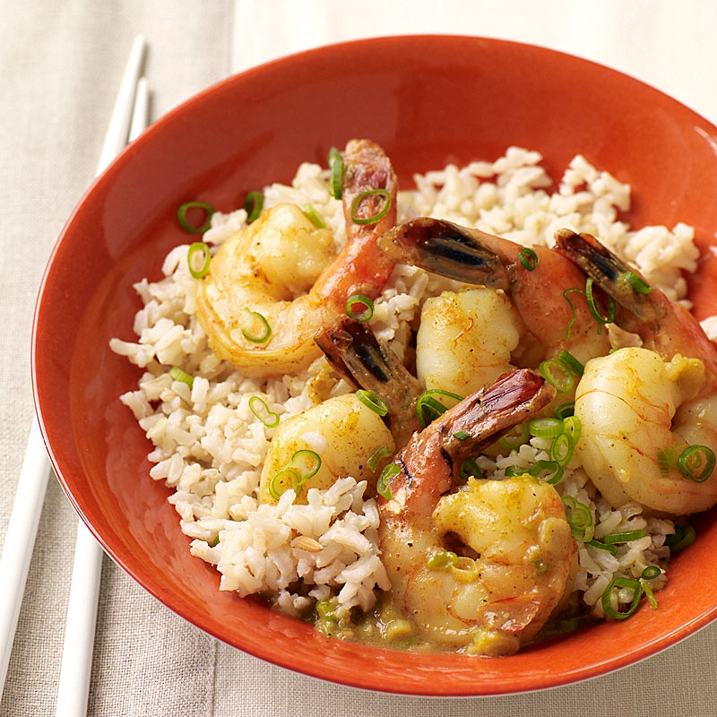 Photo of Coconut curry shrimp by WW