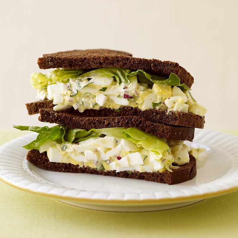 Photo of Egg salad sandwich by WW