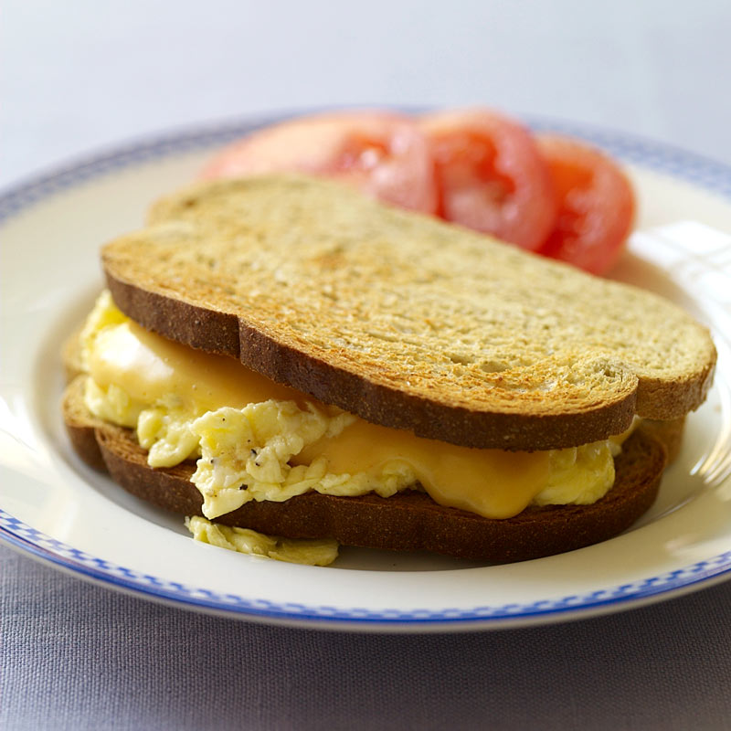 Photo of Egg sandwich with cheese sauce by WW