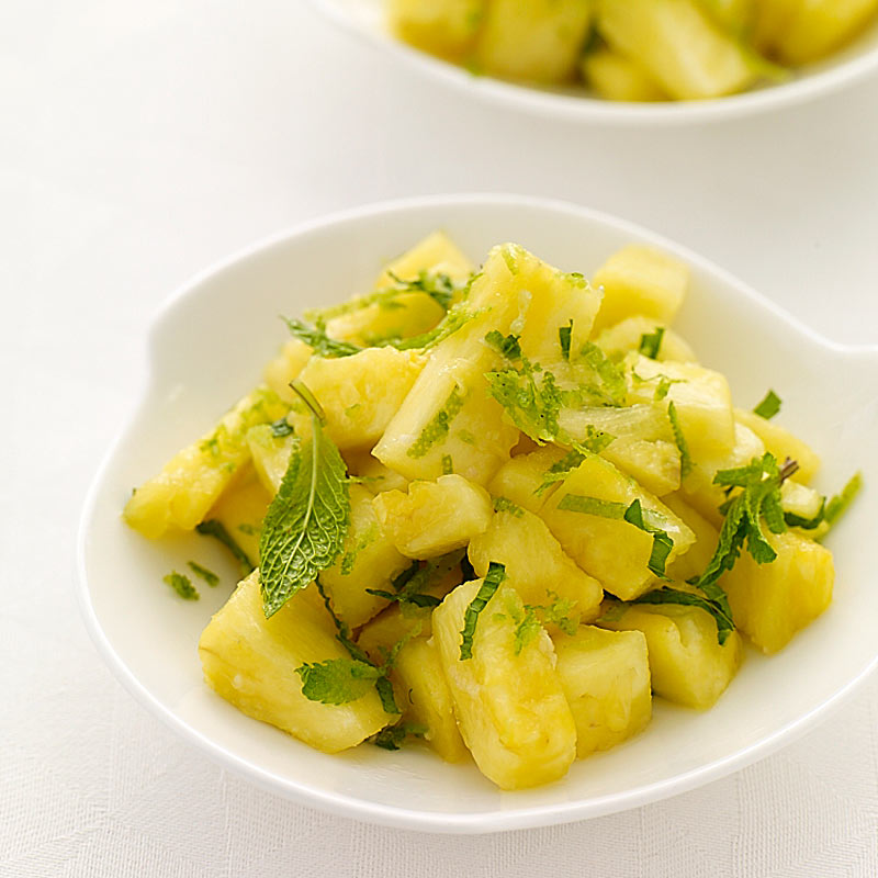 Photo of Ginger-mint pineapple salad by WW