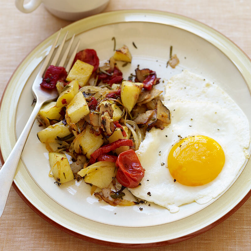 Photo of Hash and eggs by WW