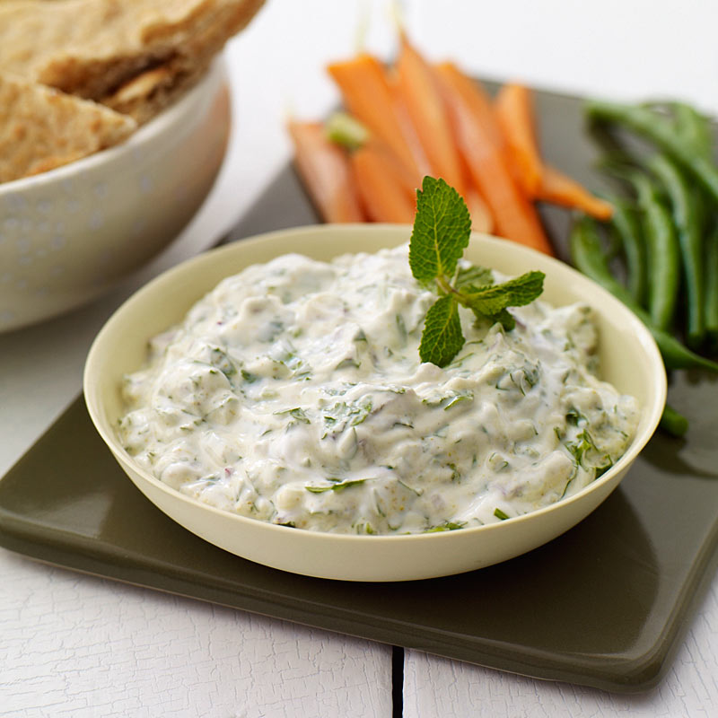 Photo of Indian-spiced cilantro dip by WW