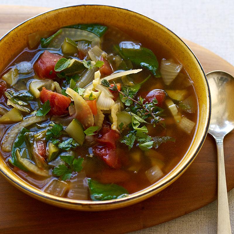 Italian Inspired Vegetable Soup
