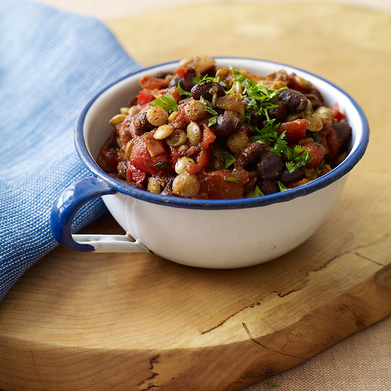 Lentil and black bean chili recipes weight watchers lentil and black bean chili sign up now forumfinder Gallery