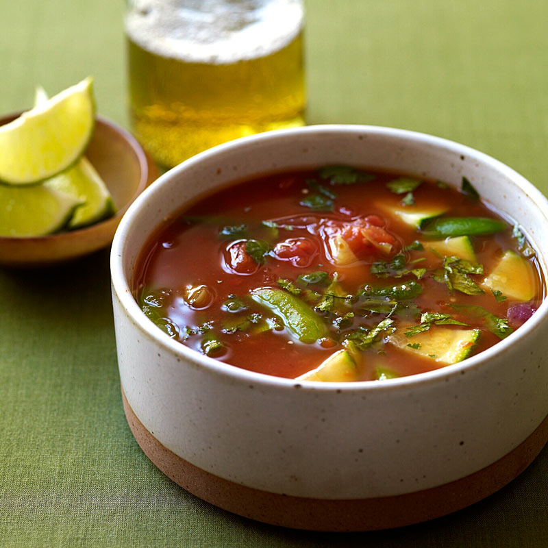 Photo of Mexican-inspired vegetable soup by WW
