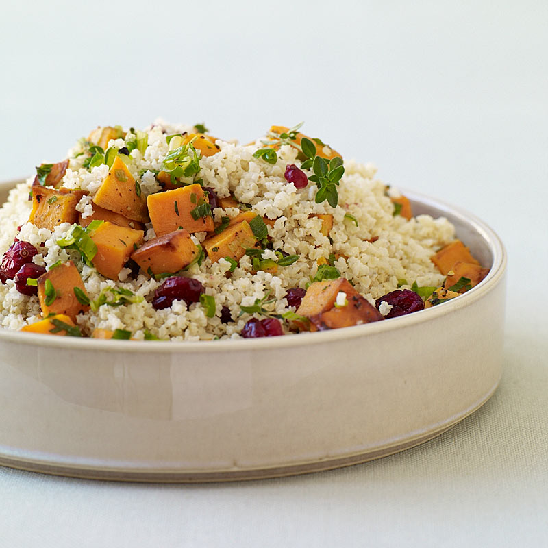 Photo of Millet pilaf with cranberries, sweet potatoes, and thyme by WW