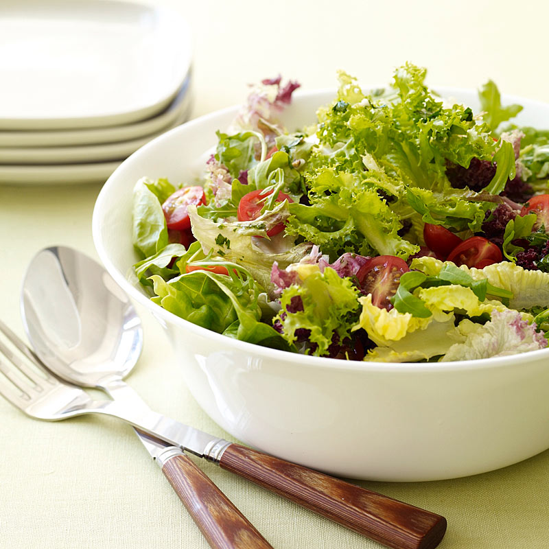 Photo of Mixed greens with vinaigrette by WW