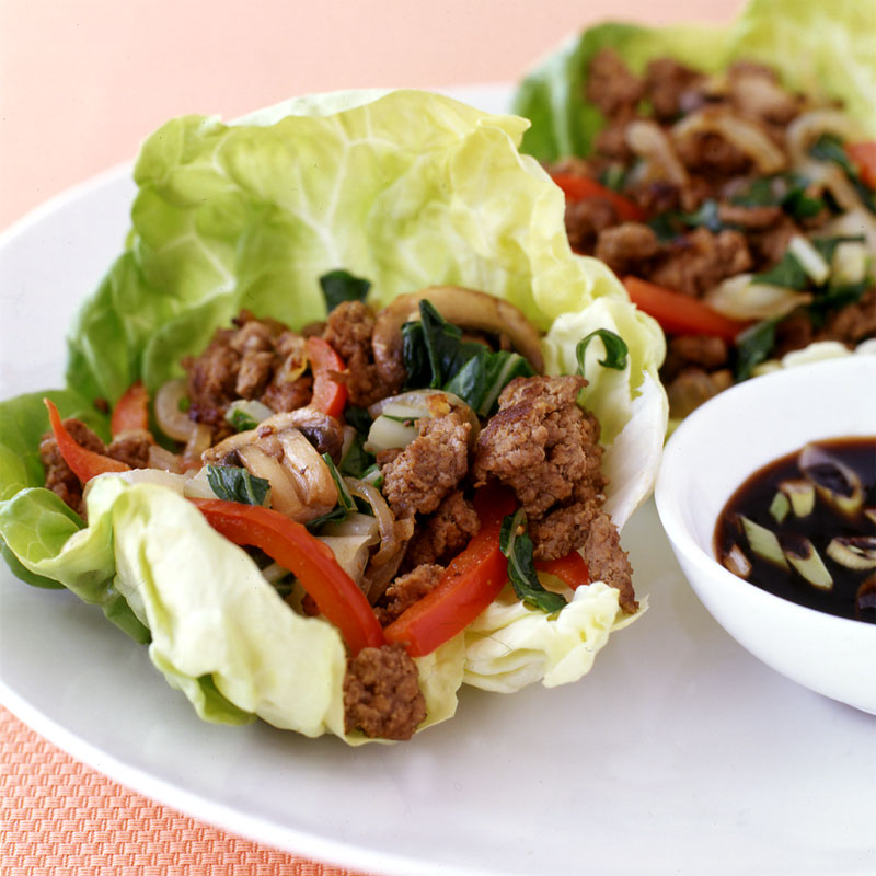 Photo of Moo shu beef lettuce cups by WW