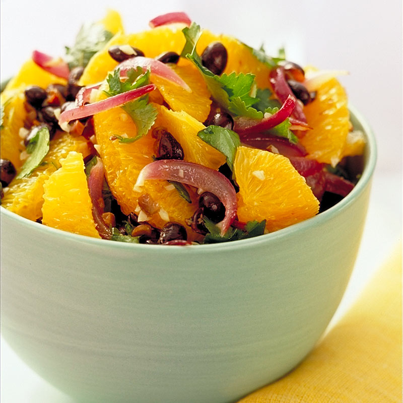 Photo of Orange-cilantro black bean salad by WW