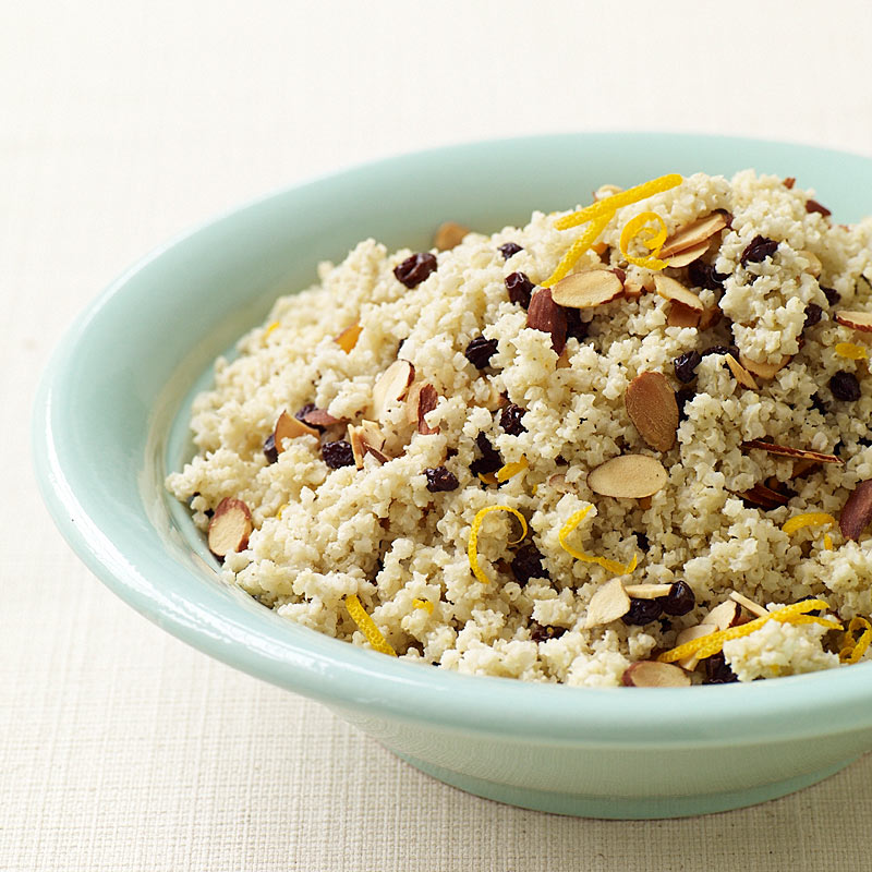 Photo of Orange-scented millet with almonds and currants by WW