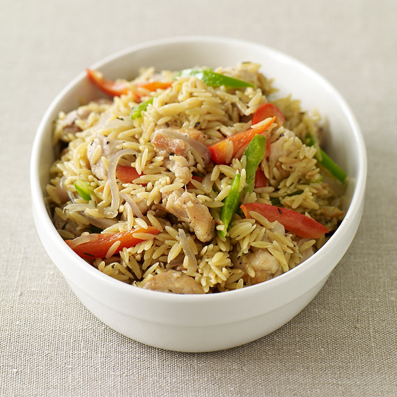 Photo of Orzo risotto with chicken thighs by WW