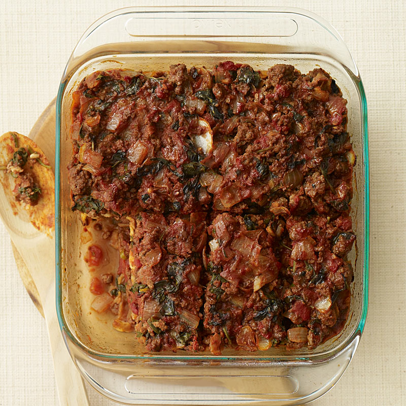 Photo of Beef and Spinach Matzo Pie by WW
