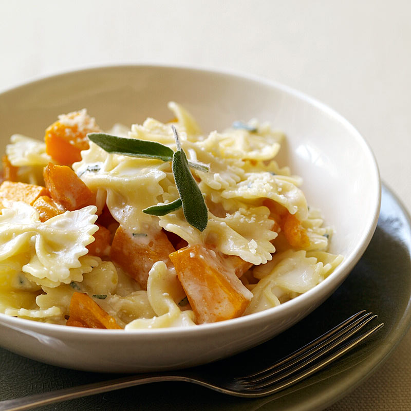 Photo of Pasta with butternut squash and sage by WW
