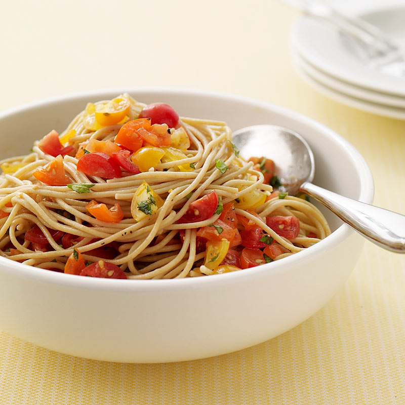 Photo of Pasta with no-cook tomato sauce by WW