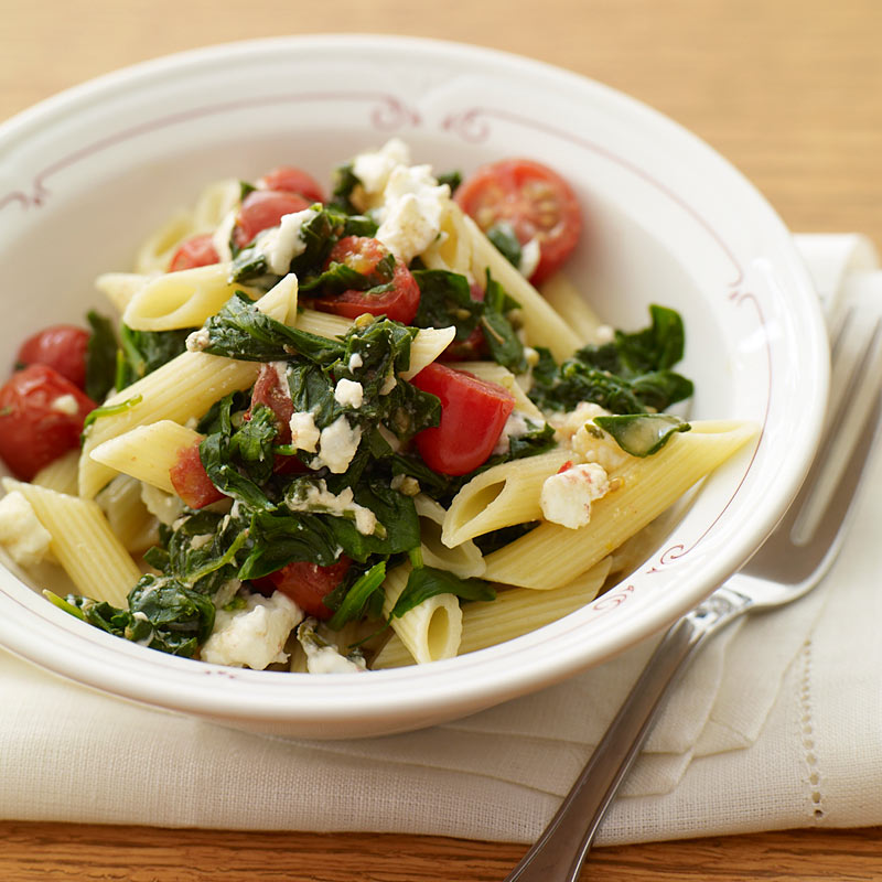 Photo of Penne with spinach and tomatoes by WW