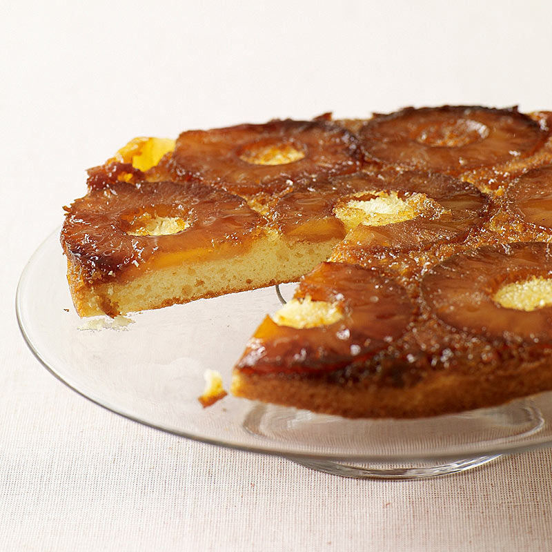 Photo of Five-Ingredient Pineapple Upside-Down Cake by WW
