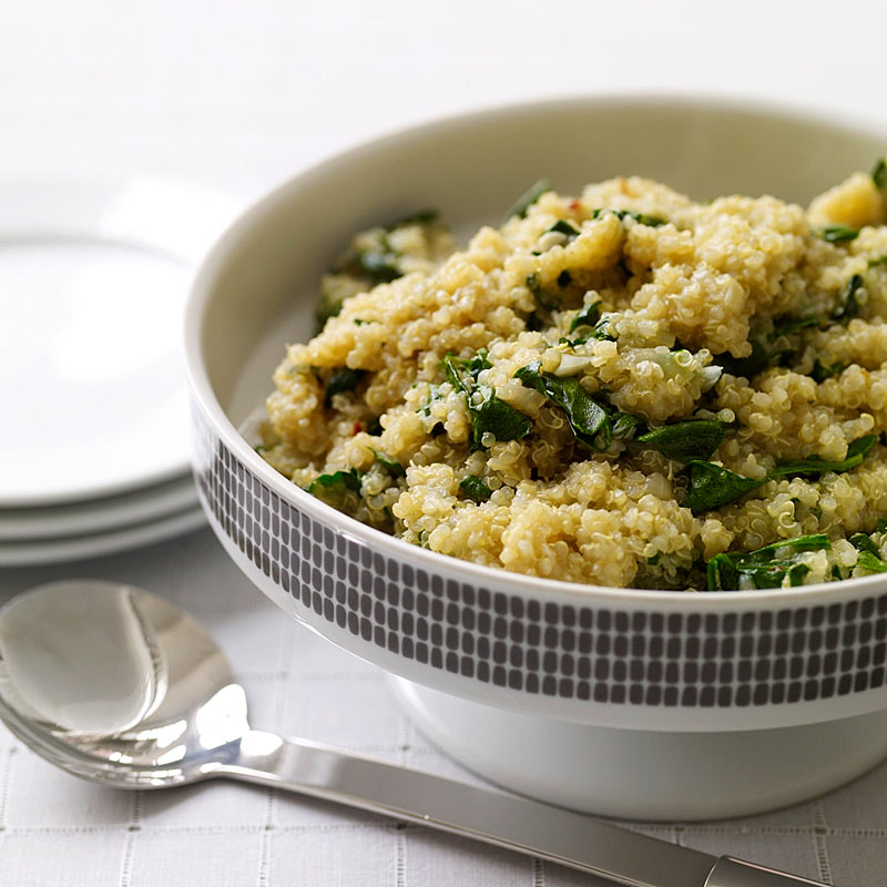 Photo of Quinoa and spinach by WW
