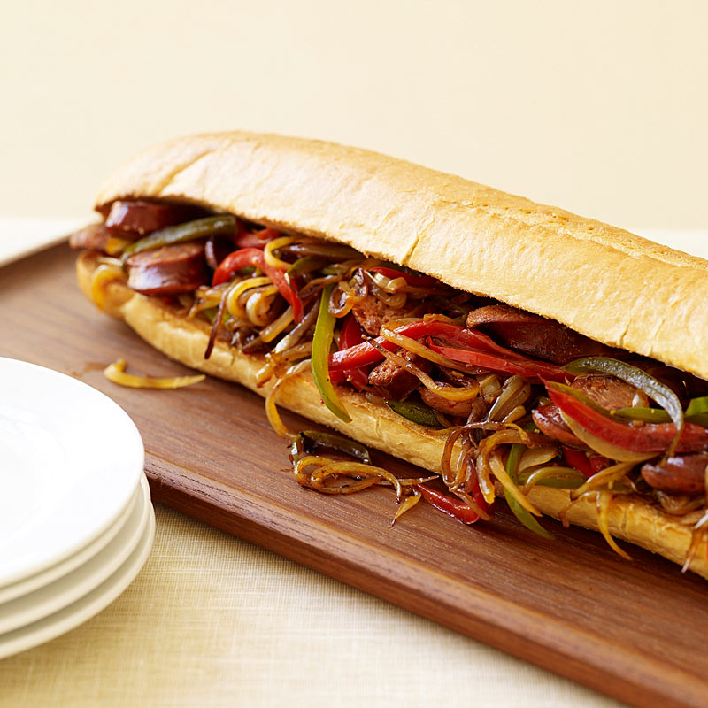Photo of Sausage, Pepper and Onion Hero Sandwich by WW