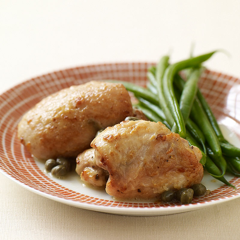 Photo of Sauteed Chicken Thighs with Lemon and Capers by WW