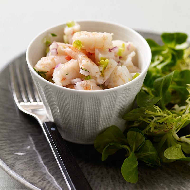 Photo of Shrimp salad with lemon dressing by WW