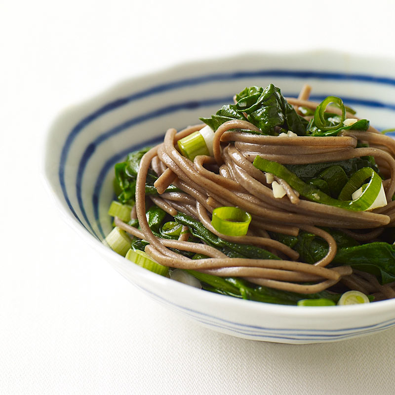 Photo of Soba Noodles with Spinach by WW