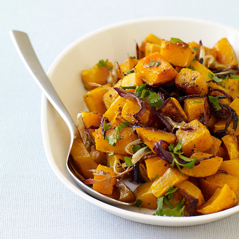 Photo of Spice-roasted butternut squash and onions by WW