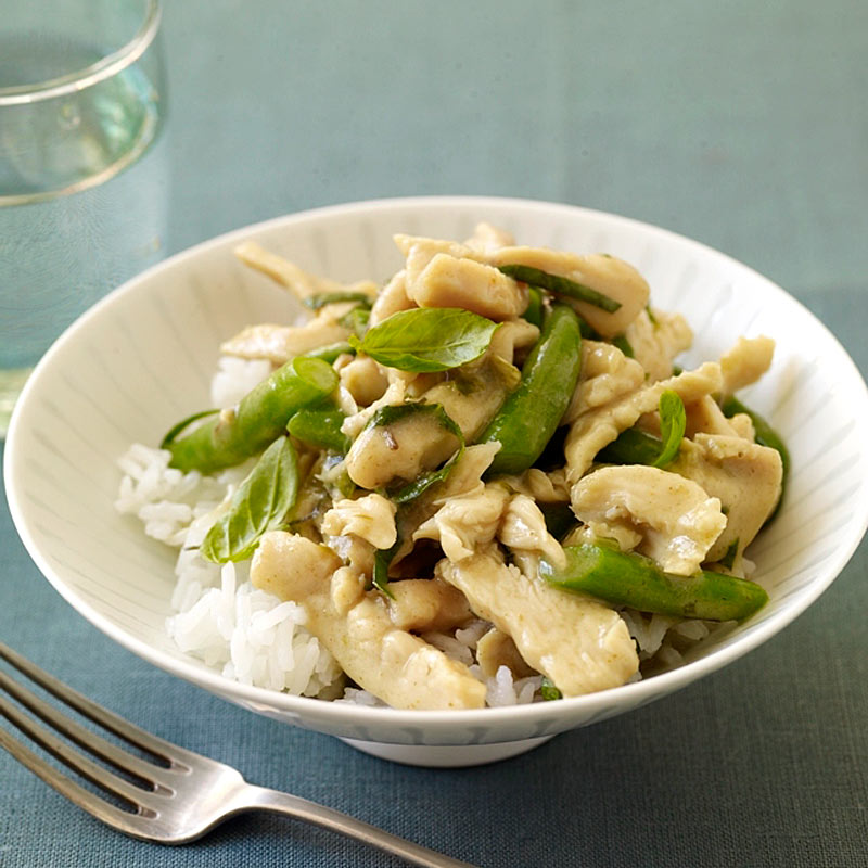 Photo of Thai chicken and string beans by WW