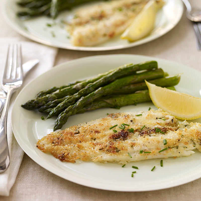 Photo of Toaster Oven-Baked Sole with Asparagus by WW