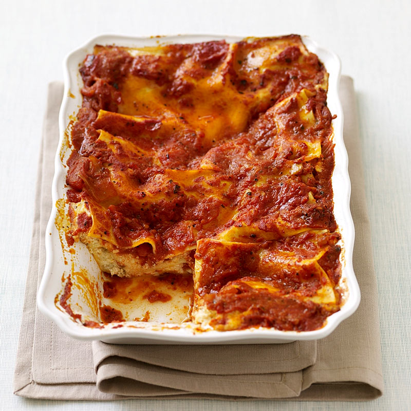 Photo of Tomato and pepper lasagna by WW