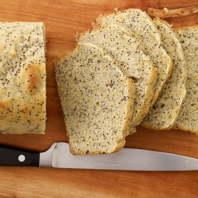 Photo of Vegan lemon-poppy seed pound cake by WW