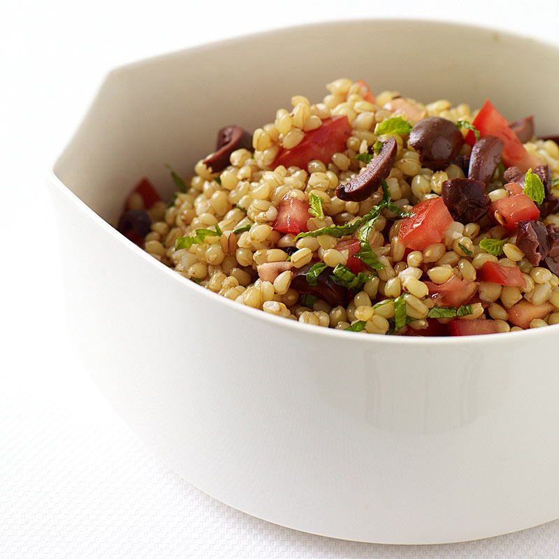 Photo of Wheat Berry Salad with Tomatoes and Olives by WW