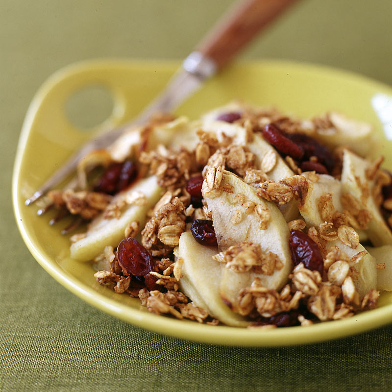 Photo of Apple-cranberry crisp by WW
