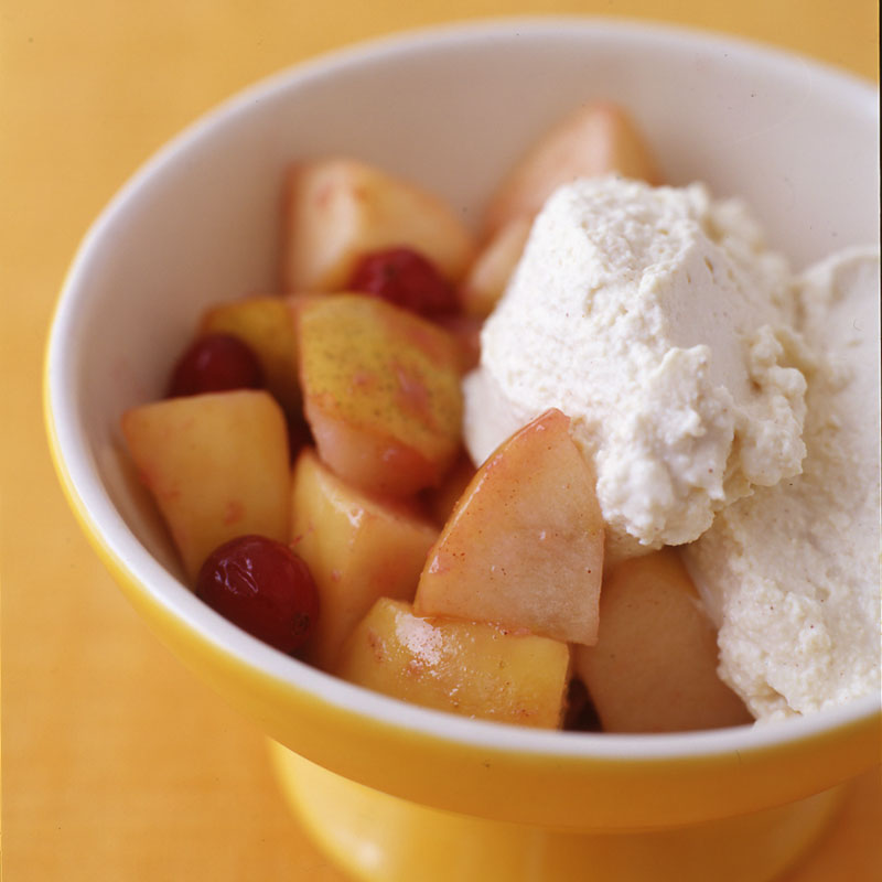 Photo of Autumn fruit with tofu whipped topping by WW