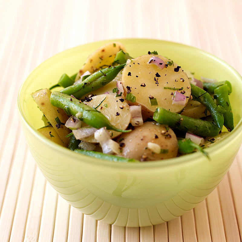 Photo of Potato and green bean salad by WW