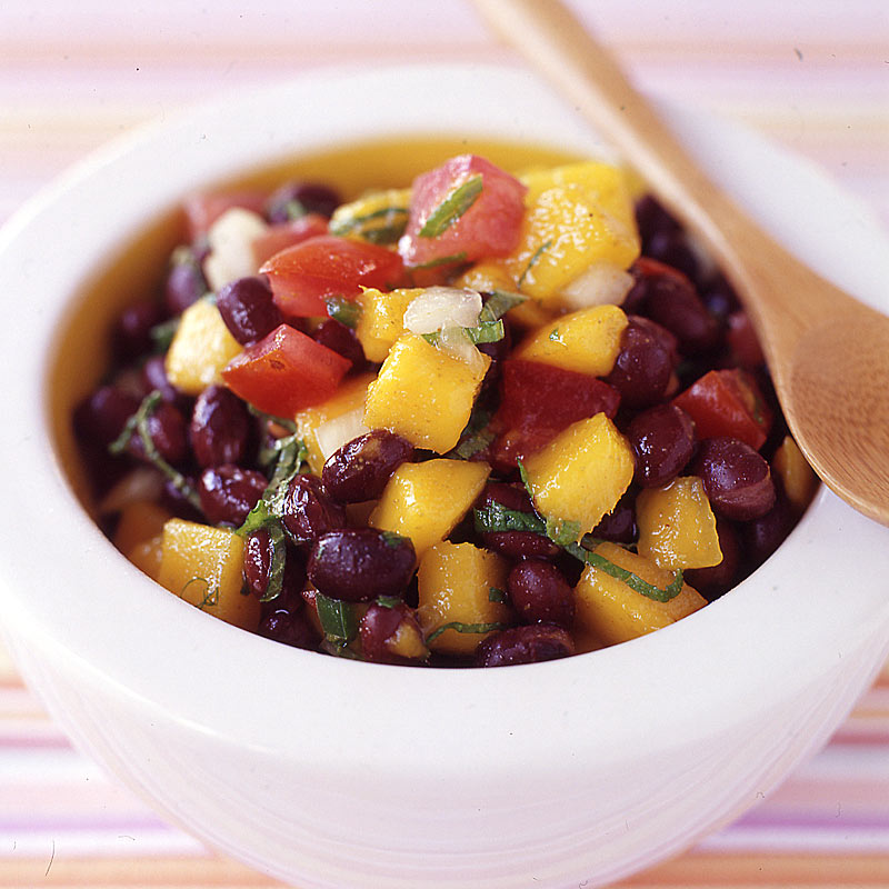 Photo of Black bean, mango and tomato salad by WW
