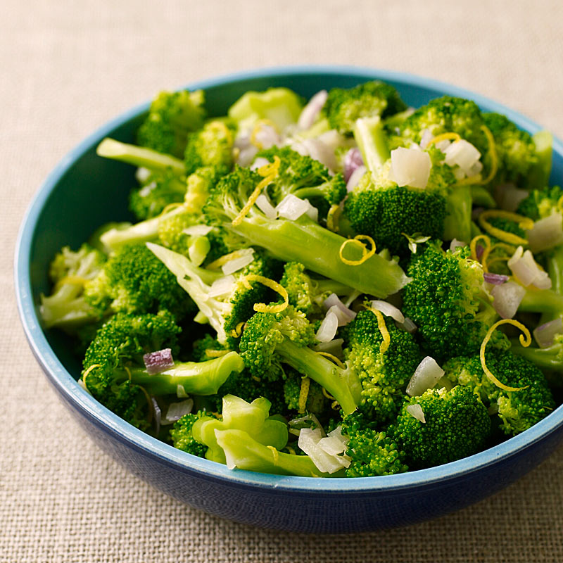 Photo of Broccoli with Shallots and Lemon by WW